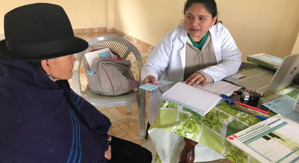 GRACIAS AL CENTRO DE SALUD DE INGAPIRCA, BRINDARON ATENCIÓN MÉDICA A LOS USUARIOS.